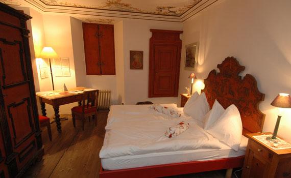 Rilke-Zimmer im Palazzo Salis