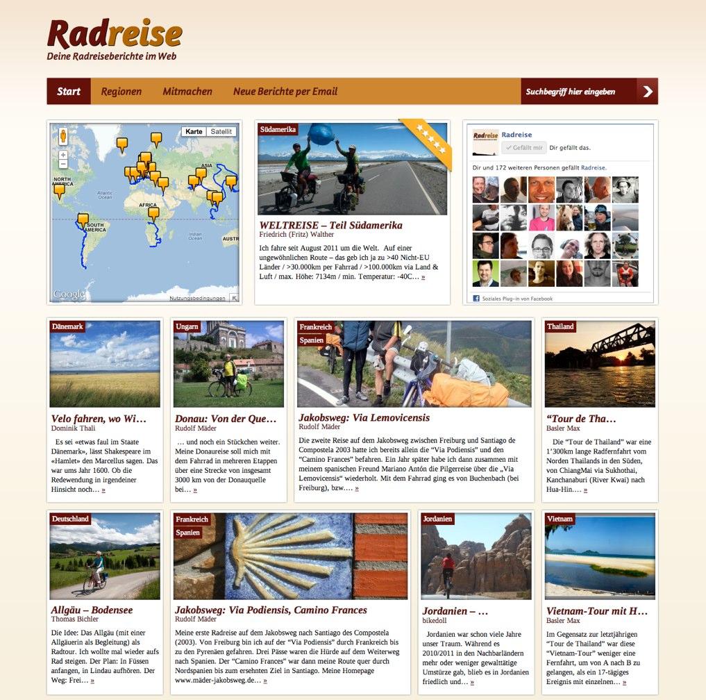 Berichte von Radreisen