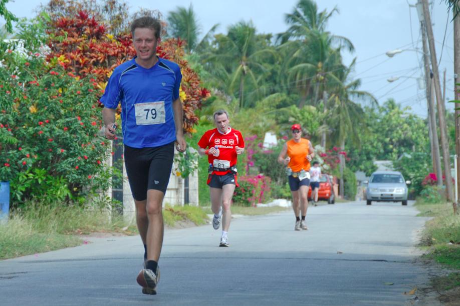Laufen in der Karibik