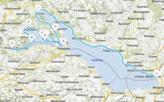 Bodensee-Radweg Deutschland