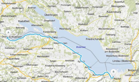 Bodensee-Radweg Schweiz