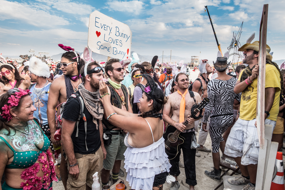 Bunny March Burning Man