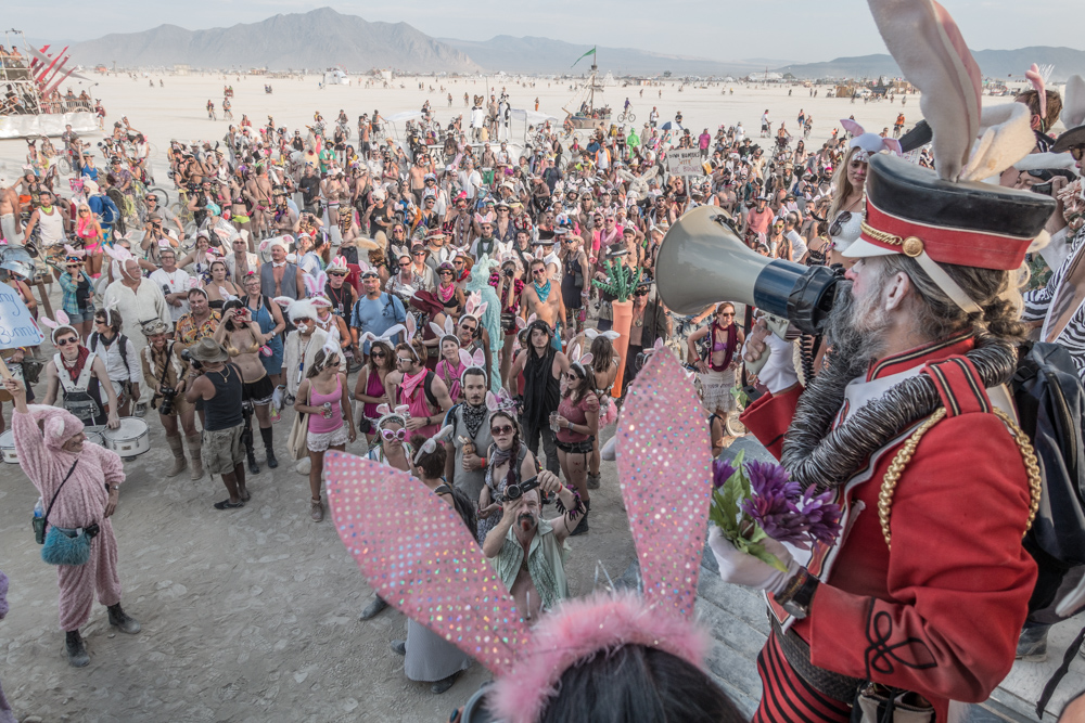 Bunny March beim Burning Man