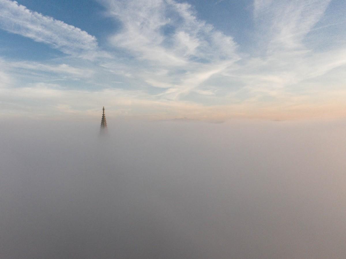 Konstanz im Nebel