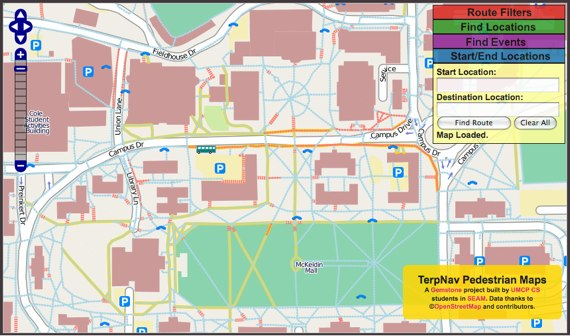 Routing University of Maryland